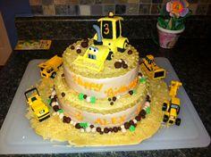 alex's digger cake
