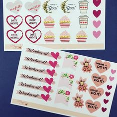 Excited to share this item from my #etsy shop: Planner Stickers Pink Love!  #plannerstickers #floralstickers #pinkstickers #heartstickers #coffeecupstickers #journalstickers #calendarstickers #bujustickers #bulletjournal #plannerbeenc #plannercommunity #plannerstickershop Calendar Stickers, Journal Stickers, Planner Stickers, Dream It Do It, Pink Love, Handmade Items, Handmade Gifts, Sticker Paper, Bee