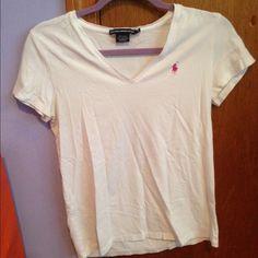 White t-shirt White t-shirt Ralph Lauren Tops Tees - Short Sleeve