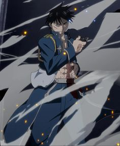 Character of the week: roy mustang & Manga Full Metal Alchemist, Der Alchemist, Roy Mustang, Fullmetal Alchemist Brotherhood, Edward Elric, Anime Nerd, Anime Guys, Mustang Wallpaper, Anime Pictures