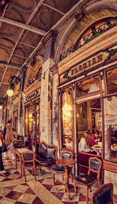 Cafe Florian, Venice, Italy
