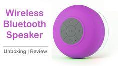 Fashionothon – WaterProof Bluetooth Shower Speaker Unboxing & Revew Shower Speaker, Waterproof Bluetooth Speaker, Electronics, Youtube, Youtubers, Consumer Electronics, Youtube Movies