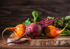 Red and Golden Beets by George Crudo on 500px