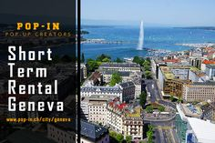 Short Term Rental Geneva Pop-Up Store Geneva City, Retail Design, Pop Up, Shops, Business, Building, People, Travel, Tents