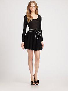 RED Valentino - Wool Jersey Dress - Saks.com