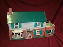 1960's Marx metal doll house.