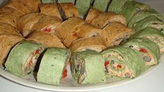 Queen of my kitchen: Picnic/Party Food - Tortilla Roll-Ups