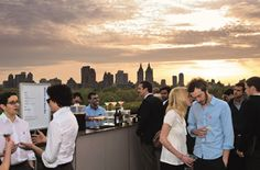 Rooftop bars in NYC: visit the city's best elevated bars The Met's roof-bar-cum-gallery offers some of the city's best views of Central Park