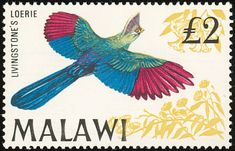 Livingstone's Turaco stamps - mainly images - gallery format