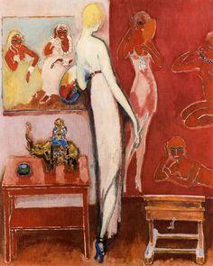 Kees van Dongen, Amusement, Oil on canvas, Musée des Beaux-Arts de Grenoble Henri Matisse, Art Fauvisme, Maurice De Vlaminck, André Derain, Raoul Dufy, Monte Carlo, Van Gogh Museum, Art En Ligne, Dutch Painters