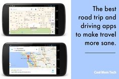 Some great road trip apps and travel apps to keep driving more sane - from Cool Mom Picks!