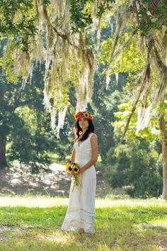 Old Brunswick Town, NC Wedding Portraits