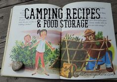 Camping Recipes & Food Storage (Camping for Newbies)