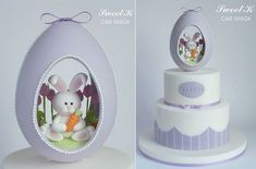easter-bunny-cake-by-Sweet-K-Design.jpg (598×395)