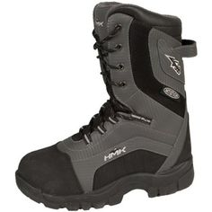 HMK Voyager Snowmobile Boots Gray Size 7