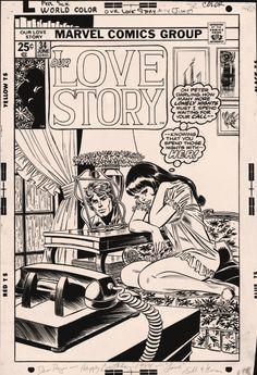 Our Love Story #34 Gil Kane Inks John Romita Sr.