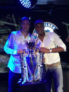 #legends #Cech #Drogba #Chelsea #LOVE