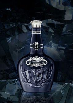 Royal vintage whiskey crown