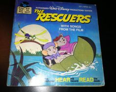 rescuers read along record book 80s - Google Search