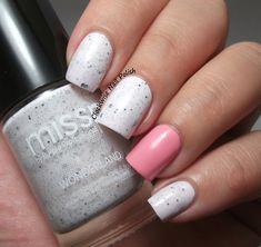 The Clockwise Nail Polish: Missp 20 Adorable & Missp 18 Brave