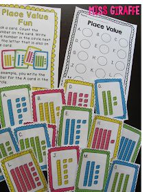 Place value centers and activities