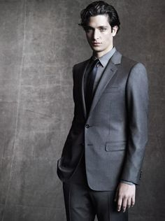 Lucho Jacob by Paolo Roversi for the Cerruti 1881 Fall Winter 2012-2013 Campaign