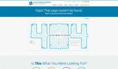 Zum Starten klicken: Auf der Website der Webdesign-Firma Blue Foundation Media...