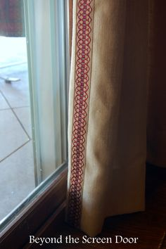 Decorative trim alon