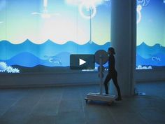An ecosystem of mechanical and natural elements coming into life on the IAC's big screens with the spin of a big physical crank. The animation explores the…