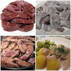 Fried Liver with Estonian- Style Liver Gravy