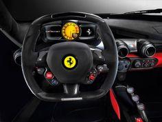Ferrari LaFerrari cokpit