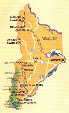 Provincia de Neuquén, Argentina.   -lbk-