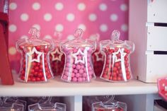 Gumballs from American Girl Doll Themed Birthday Party at Kara's Party Ideas. See more at karaspartyideas.com!