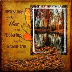 Video Tutorial: Creating PhotoArt - Autumn Leaves