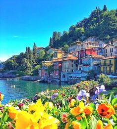 Varenna, Lake Como, Italy - adding it to the bucket list! Photo by: Explore. Italy Vacation, Italy Travel, Vacation Spots, Beautiful Places To Travel, Wonderful Places, Romantic Travel, Amazing Places, Siena Toscana, Tuscany