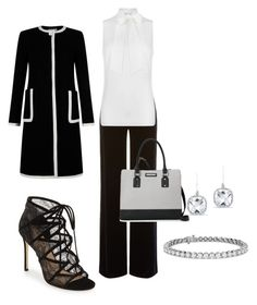 """""""Untitled #36"""" by renadagreer on Polyvore featuring Armani Collezioni, Pour La Victoire, Nine West, Blue Nile, Anne Sisteron, Hobbs and MICHAEL Michael Kors"""