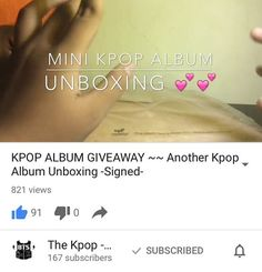 안녕! Hey guysssss can you go on YouTube and subscribe to this wonderful channel??? (The Kpop - Beauty Geek)  And join her kpop album giveaway  Also go follow her Instagram @xa.yss and snapchat ( maiyaileent ) and Twitter (parkmihwa )  Thank you for this giveaway @xa.yss  . . . https://youtu.be/oIe8wlFrvDE . . . #exo #bts #snsd #vixx #ikon #bigbang #seventeen #astro #day6 #superjunior #monstax #redvelvet #apink #aoa #2ne1 #beast #infinite #kpop #love #twice #got7 #blockb #mamamoo #gfriend #2pm…