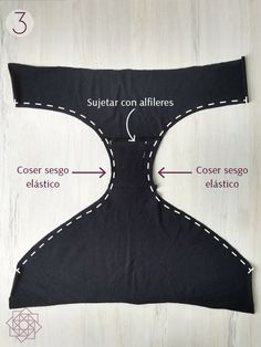 Sewing Tutorial Basic panties How to sew underwear. How to make panty cheeks. Easy underwear Easy sewing step by step. Sewing Patterns Free, Free Sewing, Sewing Tutorials, Sewing Clothes, Diy Clothes, Underwear Pattern, Sew Underwear, Mode Abaya, Diy Kit