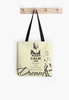 Keep Calm Theory - MARILYN DREAM BAG by Alchimia
