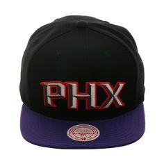 f35f3bc3f51 Mitchell  amp  Ness Phoenix Suns  PHX  Snapback Hat - 2T Black