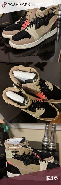 new arrival 74f42 16ecf Shop Women s Jordan Tan size Sneakers at a discounted price at Poshmark.  Description  BNWT never worn rare.