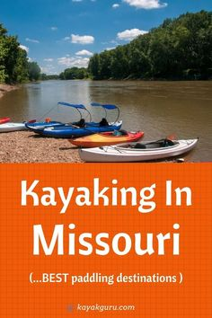 Missouri is a great place for kayaking. Whether you want to camp, fish, or enjoy the natural beauty of its rivers and tributaries, we have the best ideas in this post for your next paddling destination! Canoe Rental, Kayak Rentals, Trout Fishing, Kayak Fishing, Mark Twain National Forest, Kayak For Beginners, Washington State Parks, Kayaking Tips, Forest And Wildlife