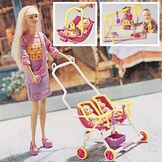 One of my favorite Barbie dolls... I had many hours of fun with this stroller!