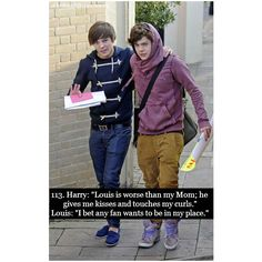 larry stylinson | Tumblr ❤ liked on Polyvore