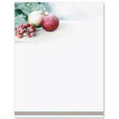 Holiday Cookies Letter Paper  Rzeczy Do Kupienia