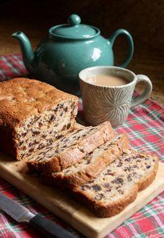 Gluten free tea bread tastes marvelous, also known as Bara Brith. No Bake Fruit Cake Recipe, Fruit Loaf Recipe, Fruit Bread, No Bake Cake, Gluten Free Quick Bread, Gluten Free Scones, Gluten Free Baking, Allergy Free Recipes, Baking Recipes