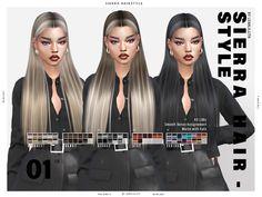 Sims 4 Mac, Sims Cc, Sims 4 Mods Clothes, Sims 4 Clothing, Kim Hair, Sims 4 Cc Eyes, Pelo Sims, Sims4 Clothes, Sims 4 Characters