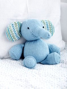 Knit Amigurumi Elephant : 1000+ images about Lovies and security dolls on Pinterest ...