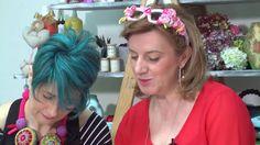 VIDEO #manidilara Cuori 3D all'uncinetto con Luisa De Santi