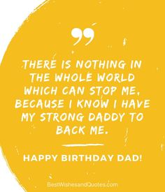 Choose from more than 40 quotes and messages for all types of dads and say happy birthday dad in a way that he will never ever forget. Happy Birthday Dad Messages, Dad Birthday, Birthday Quotes, Motivational Quotes For Life, Life Quotes, Building Elevation, Families, Daddy, Greeting Cards